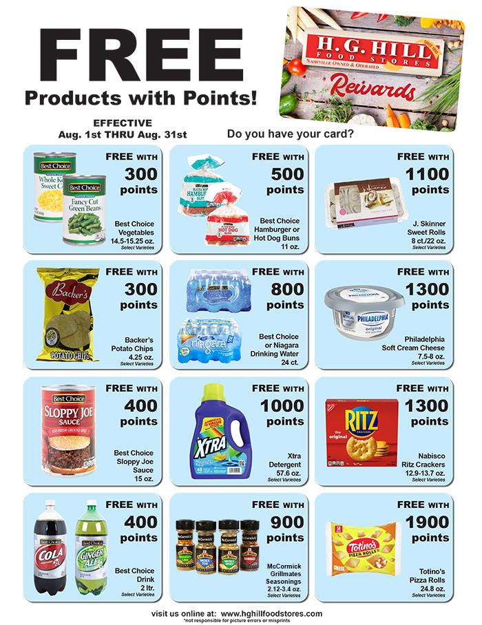 Image of Market Rewards monthly flyer